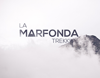 Logo for a trekking shop