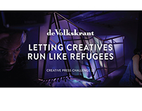 Creative Press Challenge - Run like a refugee