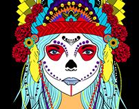 Print Design | Mandala | Shaman
