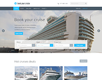 Book Your Cruise - Booking PSD