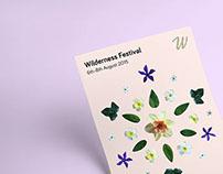 Wilderness Festival // Branding & Identity