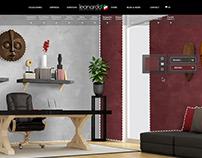Diseño web y simulador de la pintura para ¨Leonardo¨