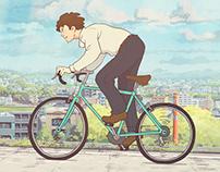 Bicycle Boy Animation