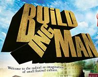 Building Man Festival poster