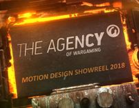 Wargaming Motion Design Reel 2018