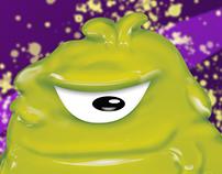 Baba de Monstruo - Personaje