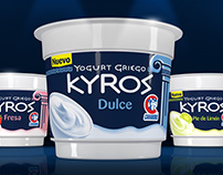 Packaging | Yogurt Griego Kyros Carabobo