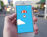 Puffin Drop iOS Illustrations