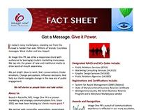 Fact Sheet: Image One PR imageonepr.com