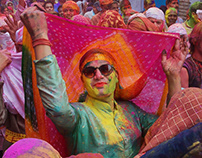 Lathmar Holi (1) Festival in Barsana