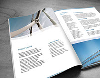 Print Design, Company Presentation Catalog