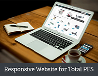 New responsive WordPress website for Total PFS