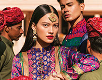 Fashion Editorial, Rajasthan - Brides Today - March '18