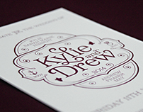 K+D Wedding Stationery