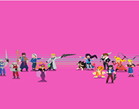 Final Fantasy VIII - Pixel Art Tribute