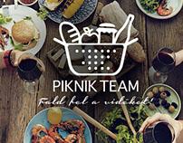 piknik team - brand identity - logo design