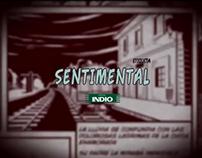 """Indio Etiquetas 2010 - """"Sentimental""""."""
