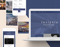 Insignia Finance Concierge Service Site and APP Design