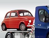 Fiat 500 Tow Car