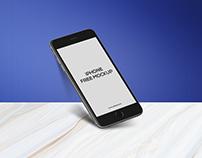 Free iPhone 6 Plus App Mock-Up Psd