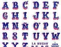 LA HUESO - LETTERS OF PERU