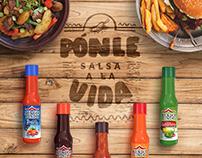 Social Media Ads. Salsas Castillo