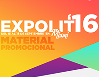 Expolit 2016 - Material Promocional