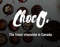 Handmade chocolate website