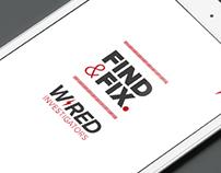Wired Investigators / Uni Project