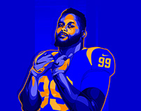 Aaron Donald - Illustration