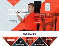 Gym & Fitness Website Design