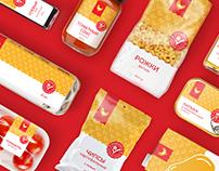 СТМ «Хлеб-Соль» — разработка фирменного стиля упаковки