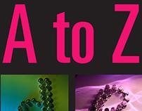 A-Z Disco Found Alphabet