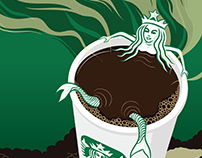 Starbucks Fan Art