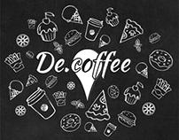 De.Coffee - Logo Design / Website Design / Icons