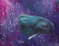Wal und Schädel