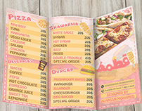 2atma restauraunt menu