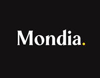 Mondia Typeface with 2 Free Styles