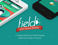 Field - Soccer Scenarios Dictionary