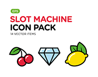 Slot Machine Icon Pack
