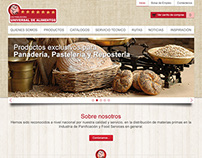 Universal de Alimentos website