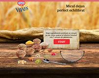 Product website - Dr. Oetker Musli Vitalis
