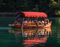 il lago di Bled - pletna