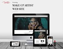 De'Tal Make up Artist Web-site