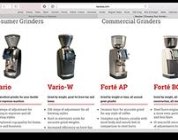 Baratza Grinder / Official Product Descriptions