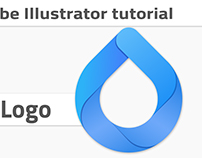 Drop logo design tutorial