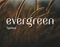 Evergreen typeface
