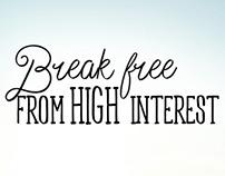 Break Free - Campaign Branding and Web Design