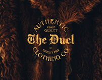 The Duel Clothing co. | Branding project