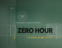 ZERO HOUR: PERSONAL UI ART PROJECT